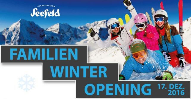 Familien Winter Opening 2016